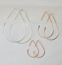 Linda Trent Teardrop Threader Earring