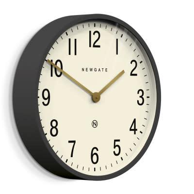 Newgate Newgate - Mr. Edwards Clock Matte Blizzard Grey