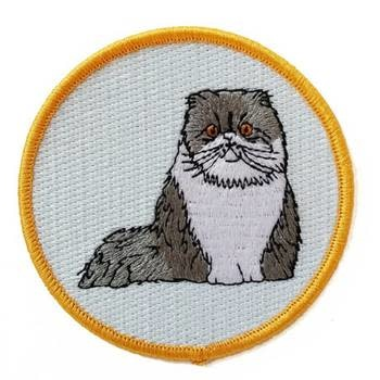 Claudia Pearson Claudia Pearson - Embroidered Patch -