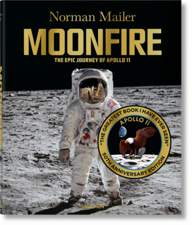 Taschen Tachen Norman Mailer. MoonFire. 50th Anniversary Edition