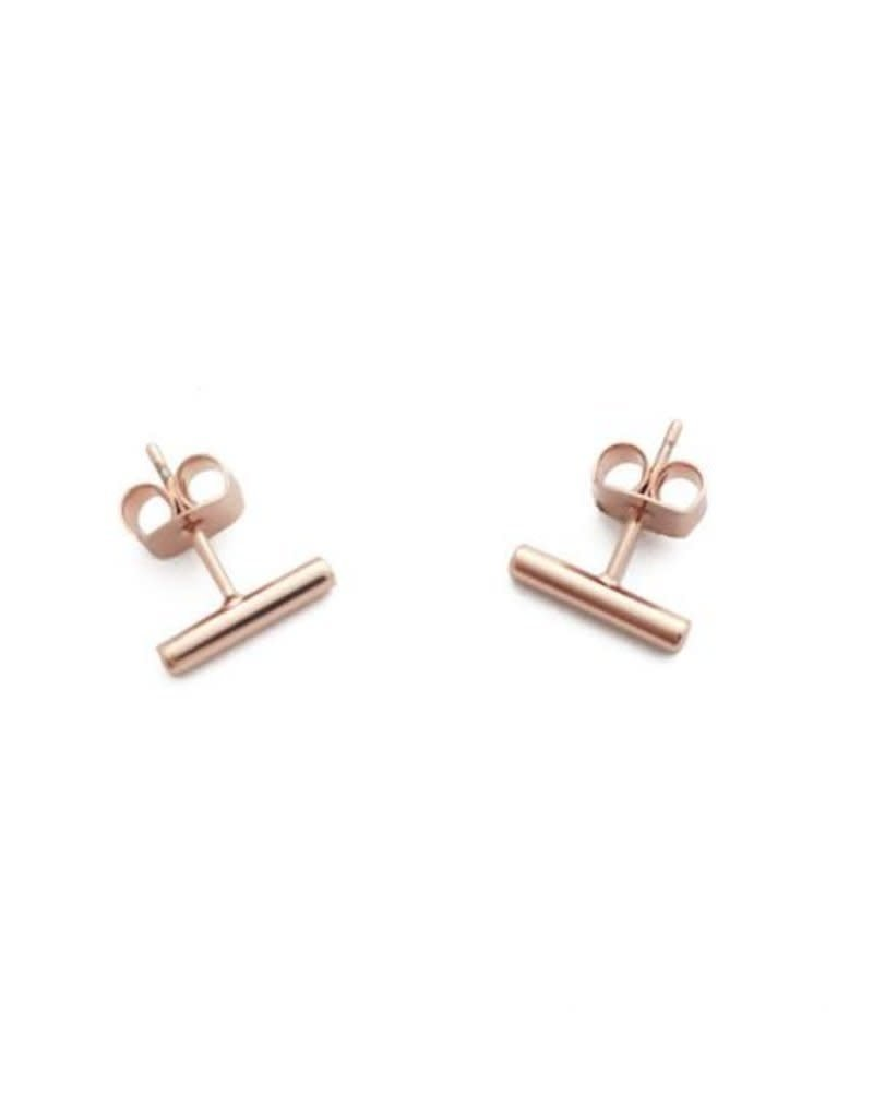 Honeycat Honeycat Midi Round Bar Earring