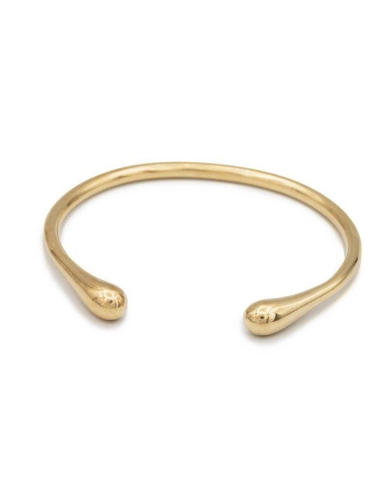 Mana Made Jewelry Mana Brass Seapod Cuff Bracelet