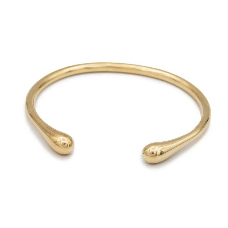 Mana Made Jewelry Mana Made Brass Seapod Cuff Bracelet