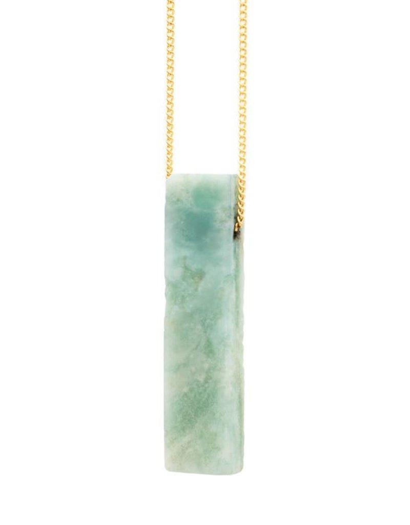 "Mana Made Jewelry Mana 28"" Stone Necklace"