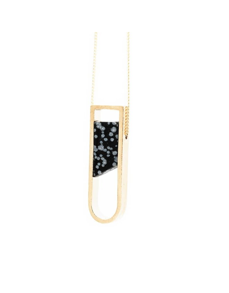 Mana Made Jewelry Mana Made Horseshoe Necklace