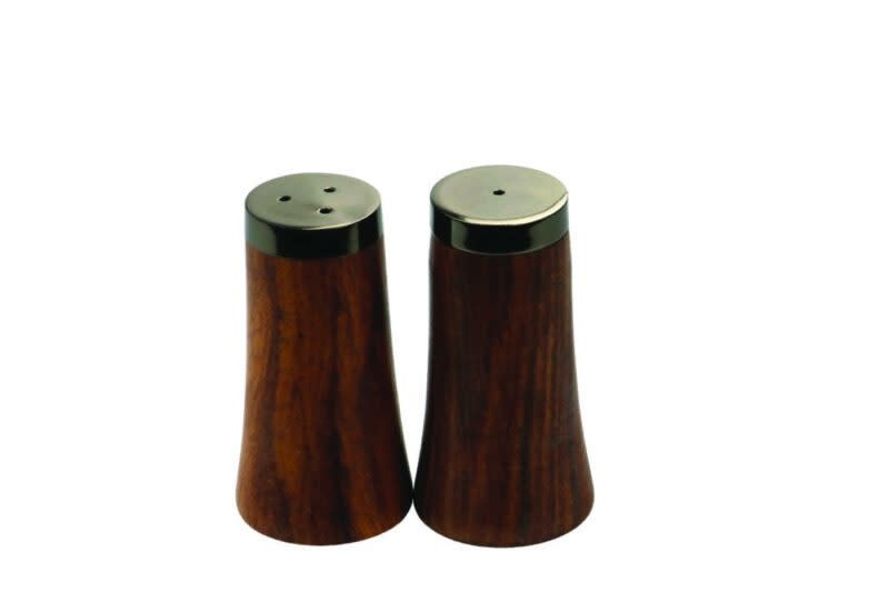Be Home Be Home - Onyx & Wood Salt & PepperSet