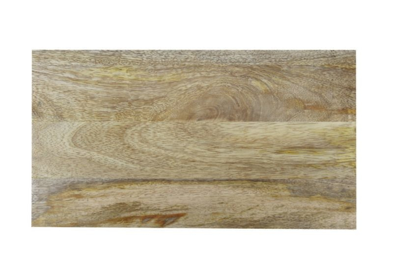 Be Home Be Home - White Marble/Wood Reversible Rectangular Board