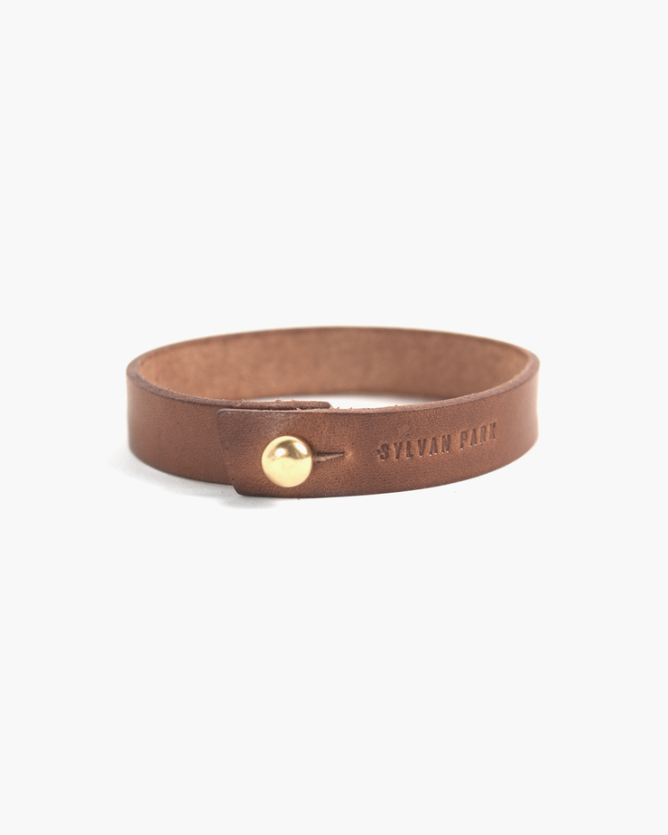 Sylvan Park Sylvan Park Slim Leather Bracelet
