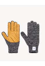 Upstate Stock Upstate Stock Wool Full Finger Gloves w/Deersking