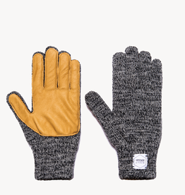 Upstate Stock Upstate Stock Wool Full Finger Gloves w/Deersking