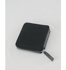 Baggu Baggu Square Wallet Black Leather