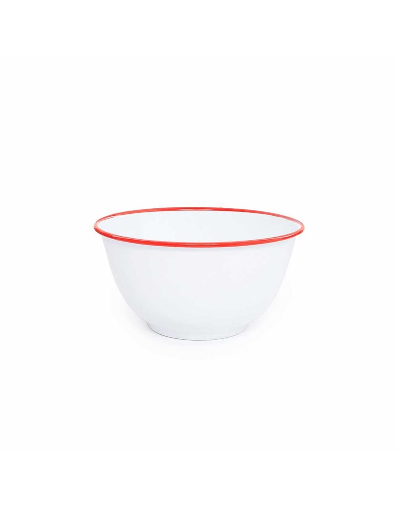 Crow Enamel Large Salad Bowl 4 qt, 10.75""