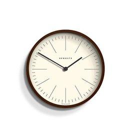 Newgate Mr Clarke Clock Dark Wood Marker Dial 28