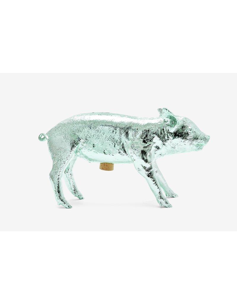 Areaware Areaware - Pig Bank (Mint Chrome)