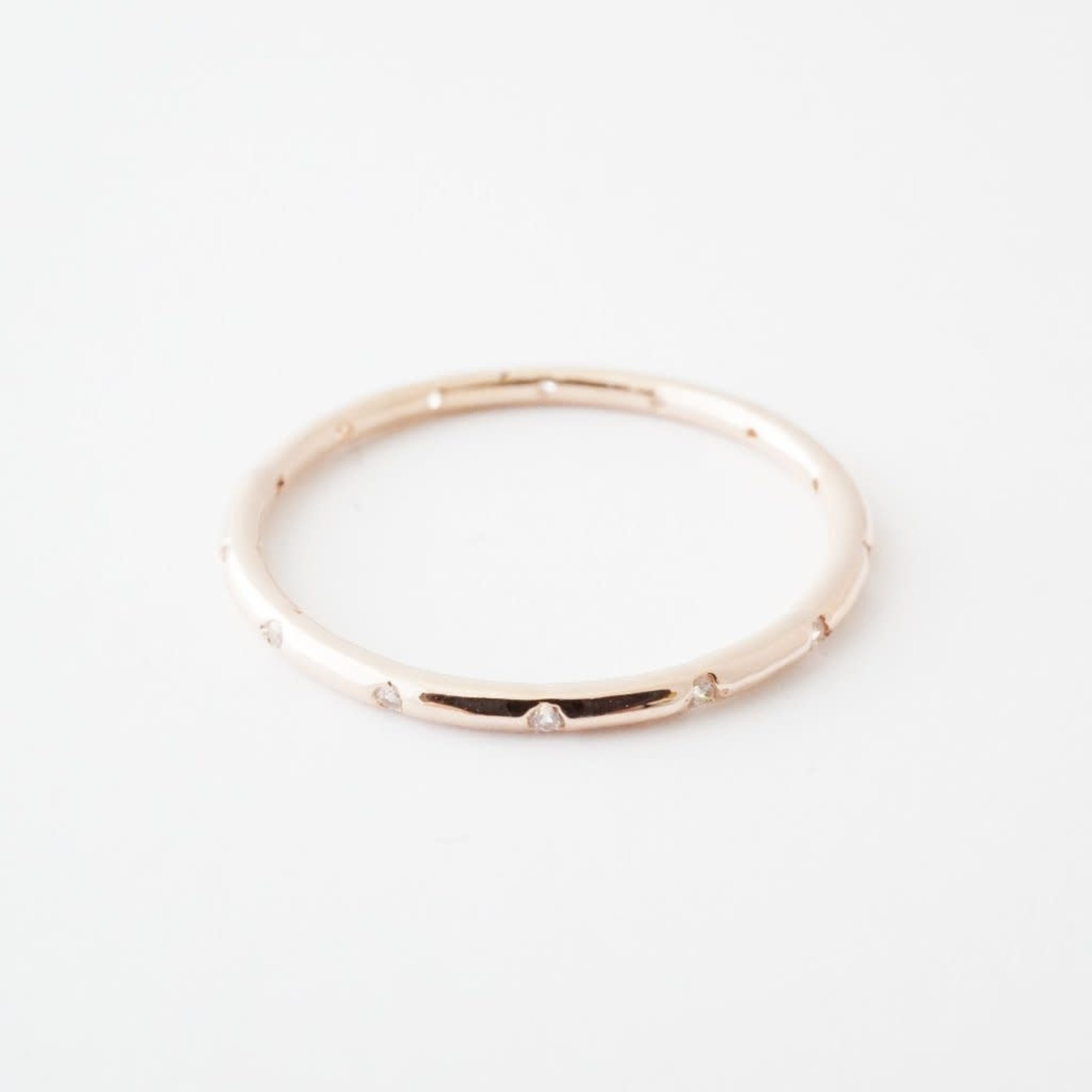 Honeycat Jewelry Honeycat Dotted Crystal Band