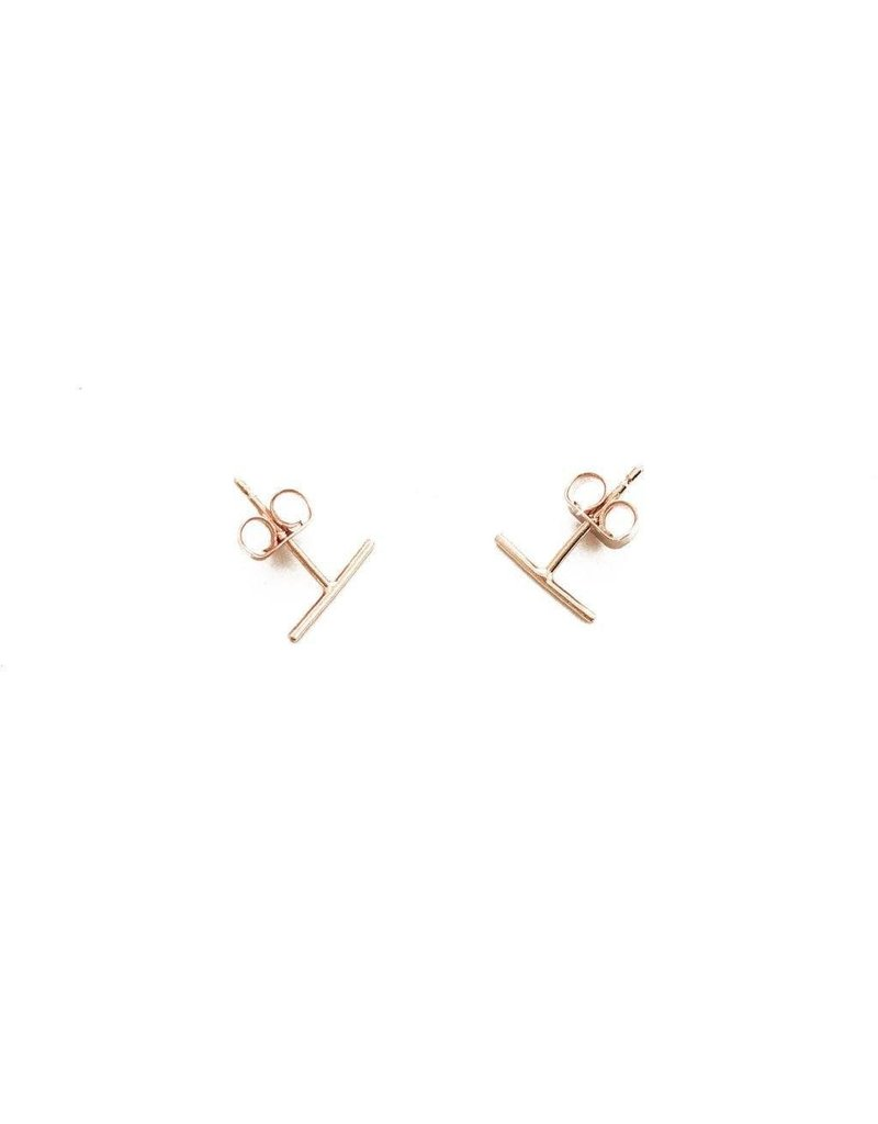 Honeycat Honeycat Skinny Midi Bar Earring