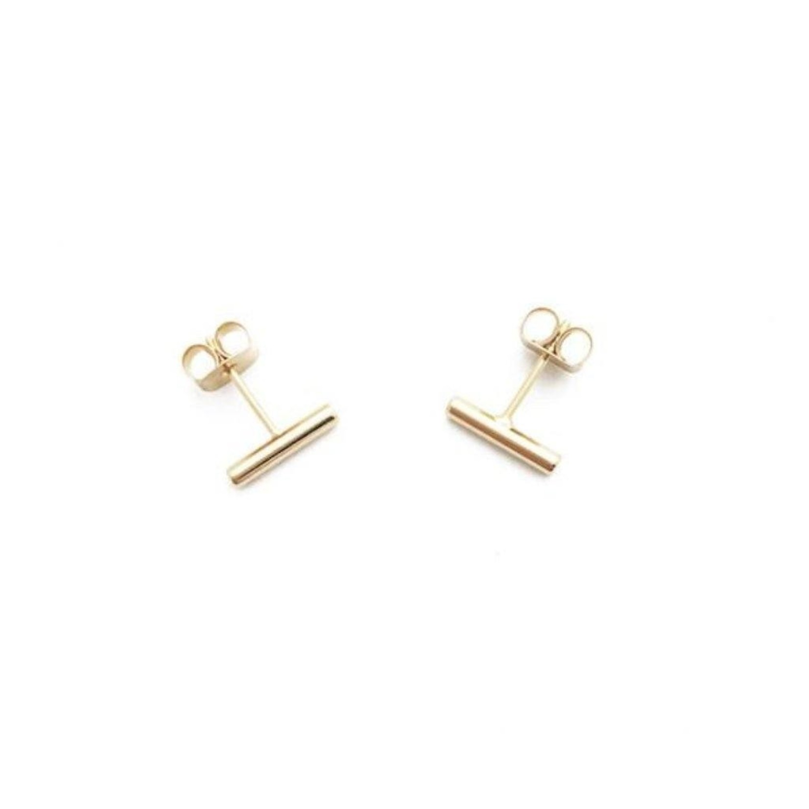 Honeycat Jewelry Honeycat Midi Round Bar Earring