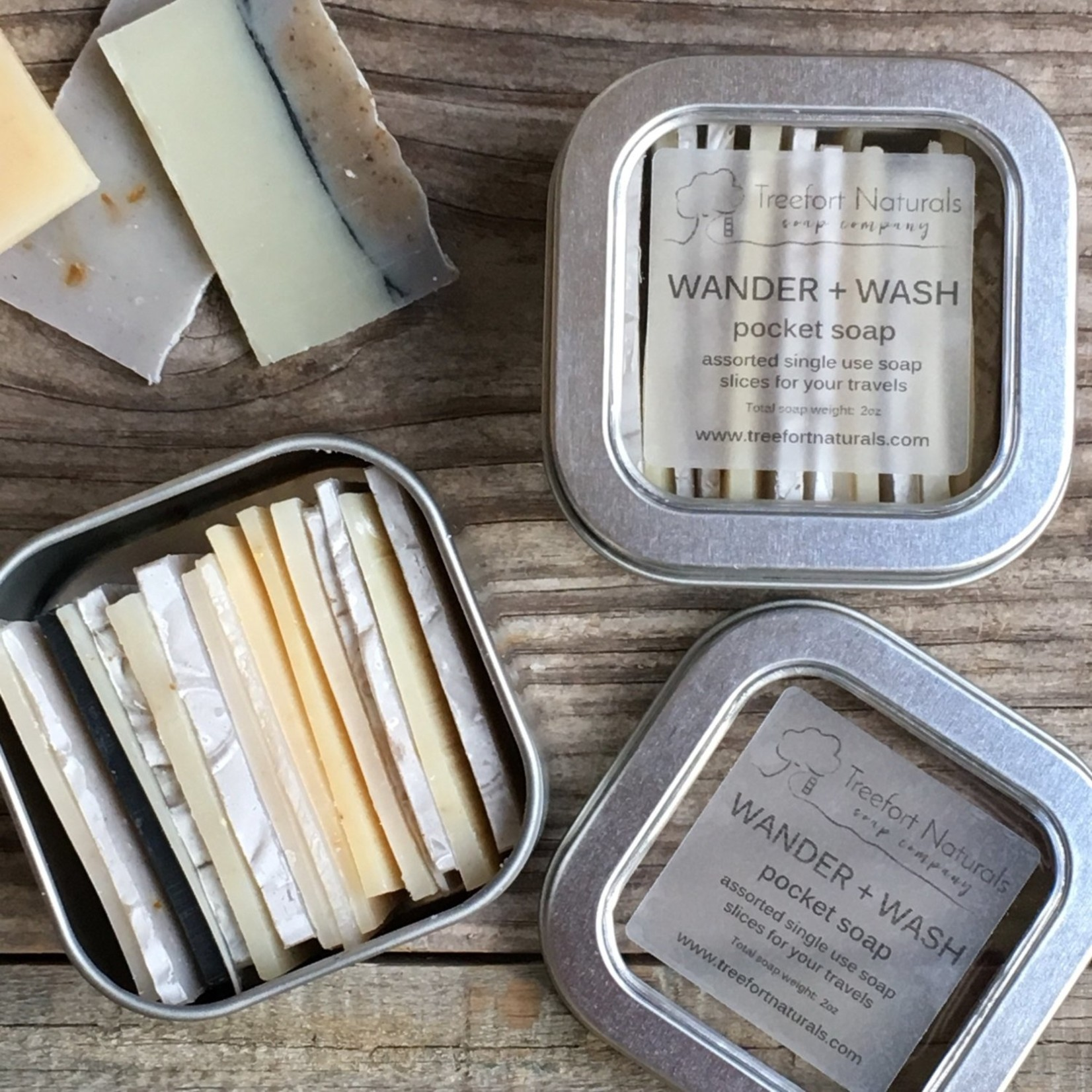 Treefort Naturals Buy Wander + Wash Pocket Soap by Treefort Naturals