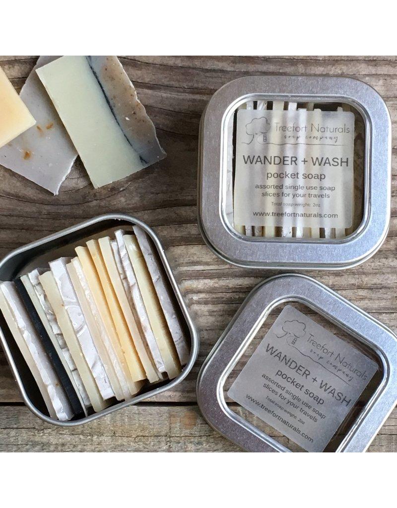 Treefort Naturals Treefort Naturals Wander + Wash Pocket Soap