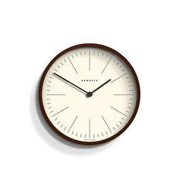 Newgate Newgate Mr Clarke Clock Dark Wood Marker Dial 28