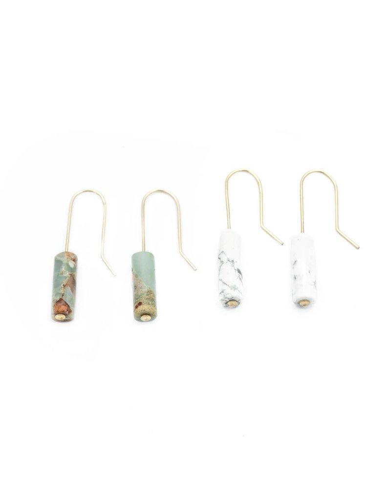 Mana Made Jewelry Mana Made Single Stone earring
