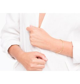 Mana Made Jewelry Mana 14K GF Thin Cuff