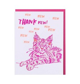 And Here We Are And Here We Are Greeting Card Thank You