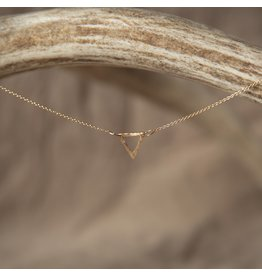 Lonewolf Collective Equilateral Lonewolf Collective - Equilateral Necklace 14k Gold Fill