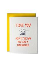 Ladyfingers Letterpress Ladyfingers Love/Marriage - More Options Available