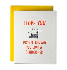 Ladyfingers Letterpress Ladyfingers Love/Marriage - More Options Available