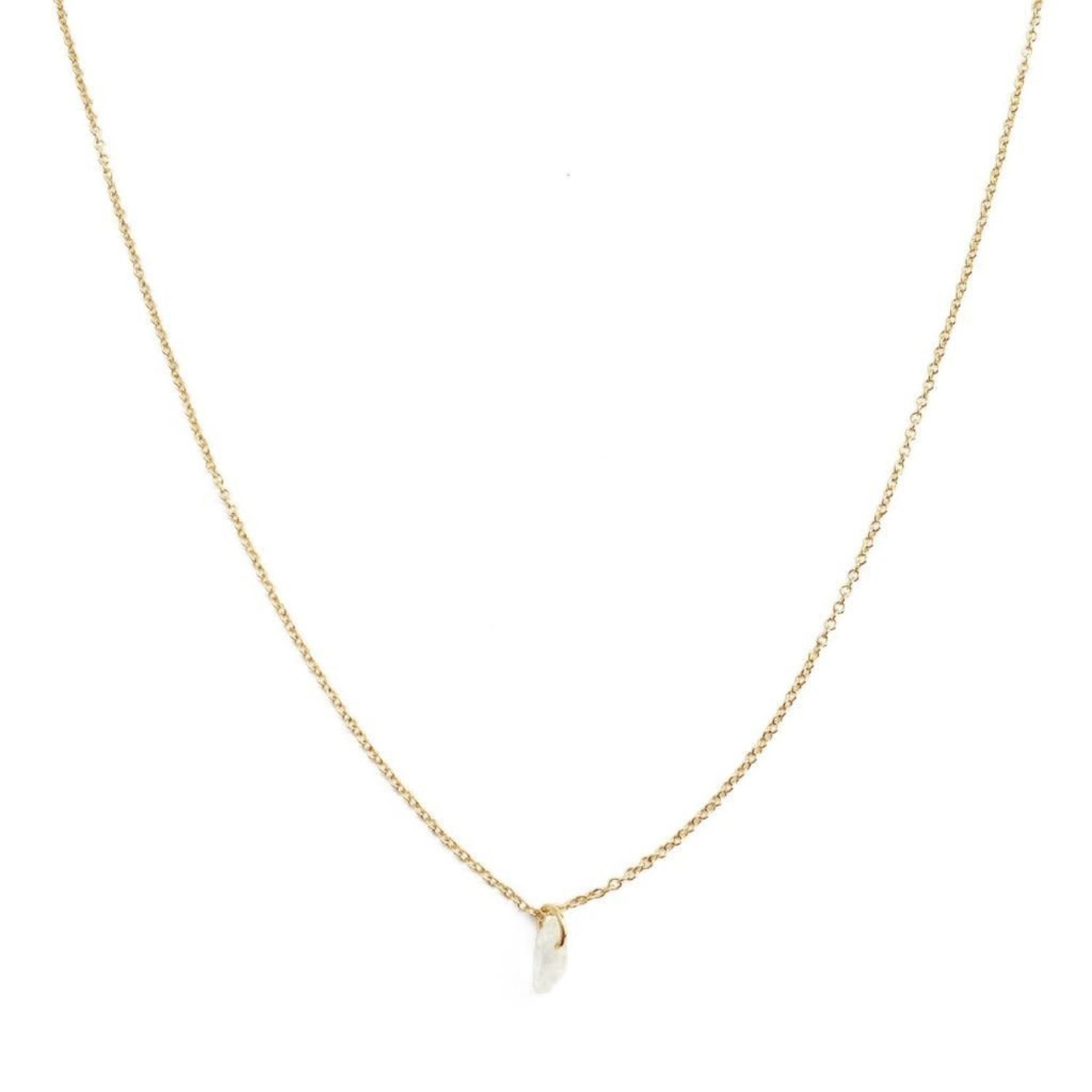 Honeycat Jewelry Honeycat Wish Crystal Moonstone