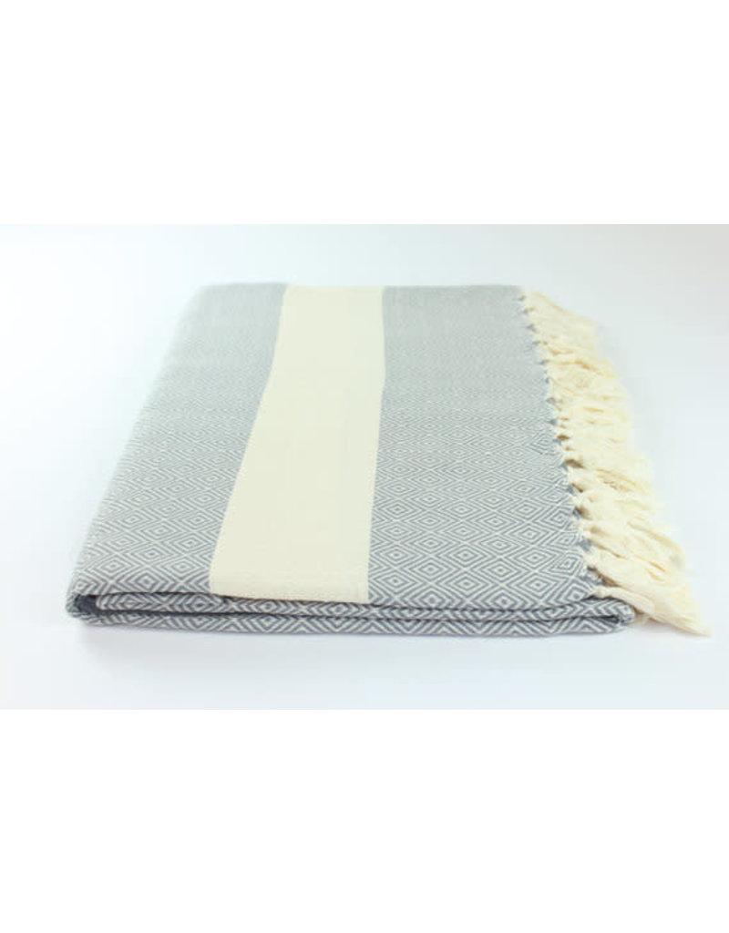 "Turkish Towel 39"" X 76"" Diamond"