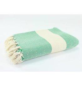 "Turkish Blanket 79""x95"" Diamond - More Options Available"