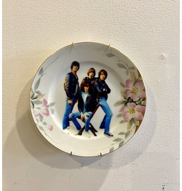 Vintage Plate Punk Rock