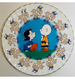 Camp Camp Vintage Plate Cartoon