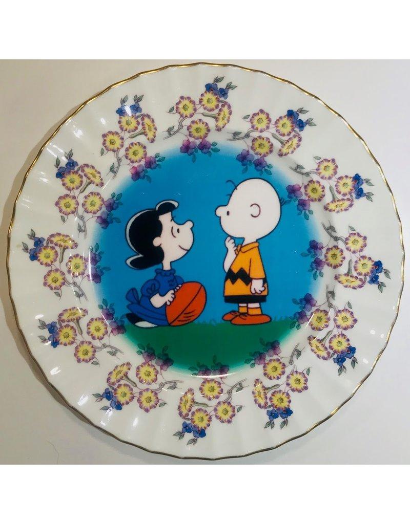 Vintage Plate Cartoon