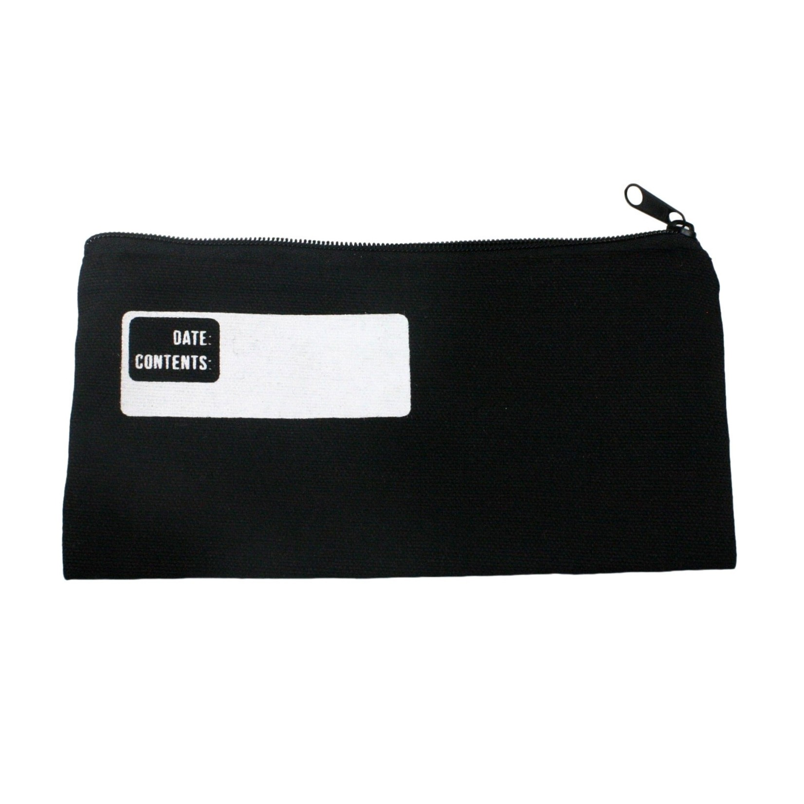 HomArt HomArt Canvas Zipper Bag Black