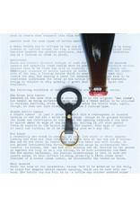 HomArt HomArt Keychain Bottle Opener Forged Iron Black