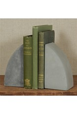 HomArt HomArt Geometric Set of Cement Bookends Arch