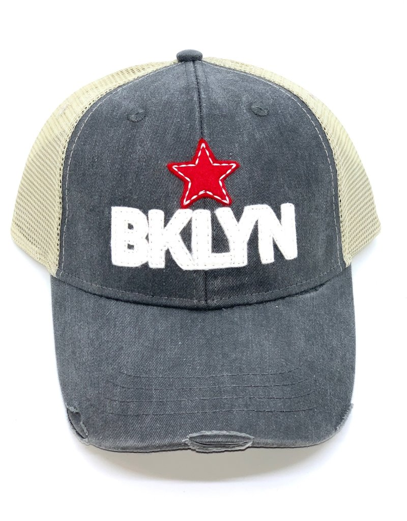 BKLYN Trucker Hat Distressed - More Options Available