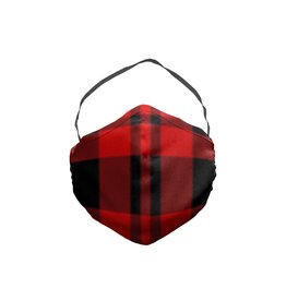 JCRT JCRT The Biggie Smalls Plaid Face Mask