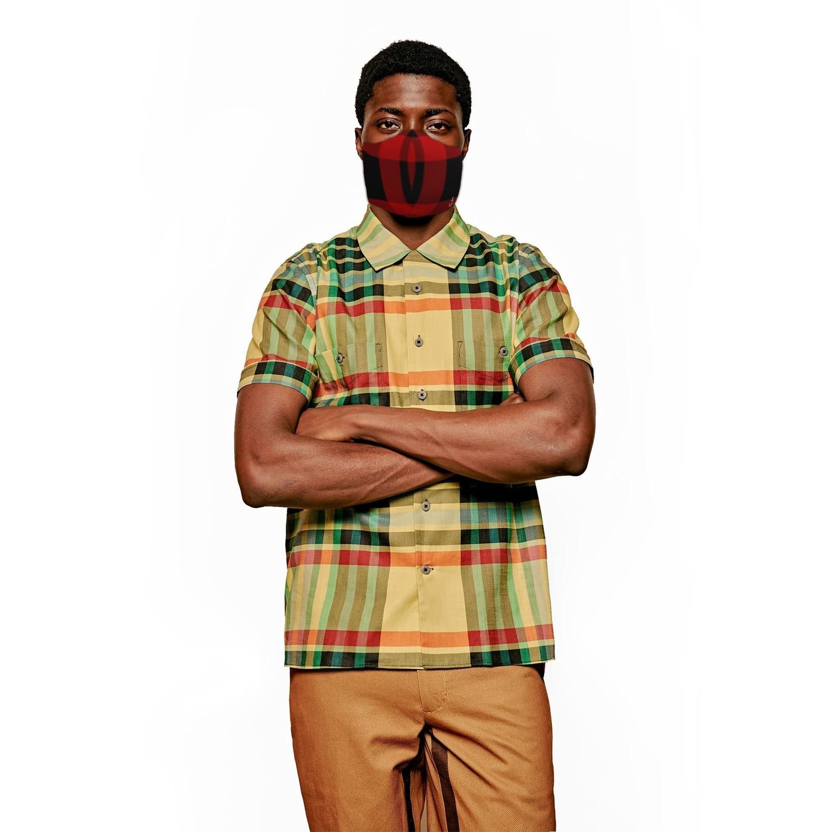 JCRT JCRT The Biggie Smalls Plaid Face Mask