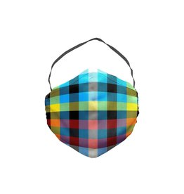 JCRT JCRT The Original Tron Plaid Face Mask