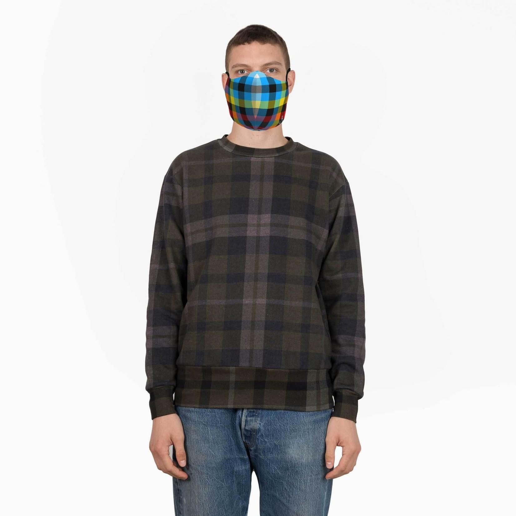 JCRT JCRT The Original Tron Plaid Face Mask