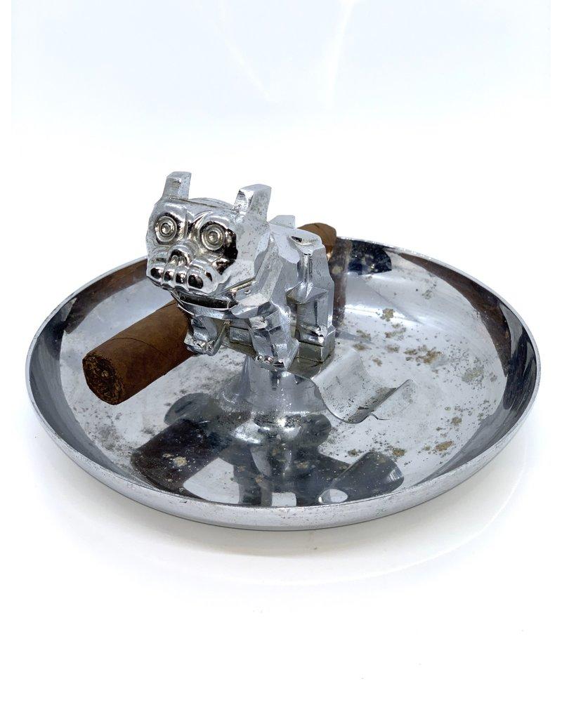 Vintage Bulldog Cigar Ashtray