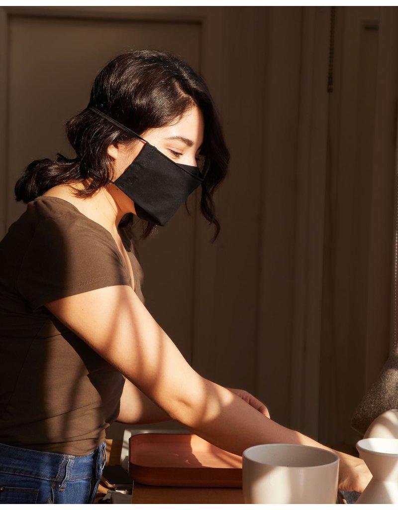 Graf & Lantz Graf & Lantz Organic Cotton Face Mask - Black