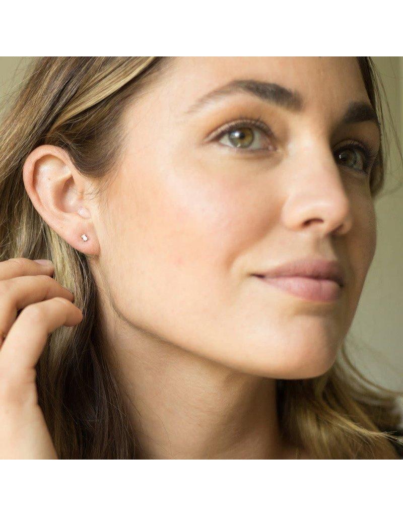 Honeycat Honeycat Crystal Baguette Studs Earrings
