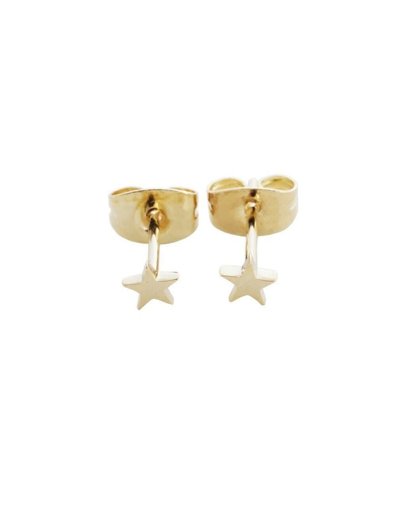 Honeycat Honeycat Mini Star Stud Earrings