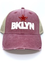BKLYN Trucker Hat Distressed