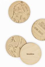 Neighborwoods Neighborwoods Coasters - Brooklyn